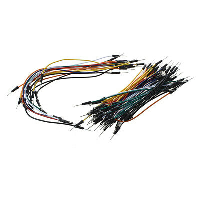 65PCS Male to Male Solderless Breadboard Jumper Cable A3M5