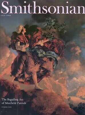 Smithsonian Magazine July 1999 The Beguiling Art of Maxfield Parrish