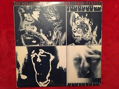 "Rolling Stones  ""Emotional Rescue""  LP / Poster  COC-16015  Sterling    USA   NM"