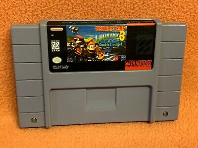 Donkey Kong Country 3 DK Super Nintendo SNES Original Authentic Game!