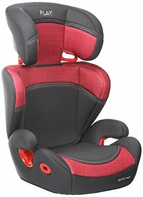 Play Safe Two Plus - Silla de coche, grupo 2-3, color rojo