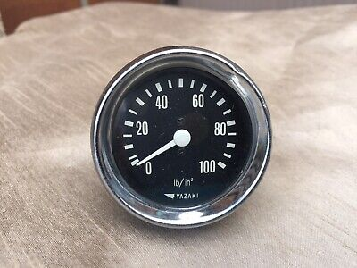Yazaki Pressure Gauge 50Mm Diameter In Vgc Working