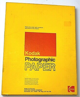 Kodak Ektamatic SC 11x14 Photograhic Paper 50 Sheets  Exp 6/76