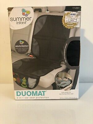 Summer Infant DuoMat Car Seat Protector Mat with Storage, Baby, Child