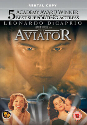 The Aviator DVD (2005) Leonardo DiCaprio, Scorsese (DIR) cert 12 Amazing Value