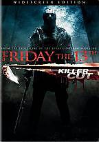Friday the 13th (DVD, 2009, Extented Killer Cut) NEW