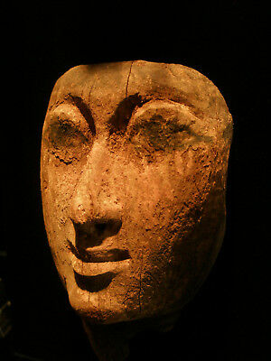Ancient Egyptian Wood Mask