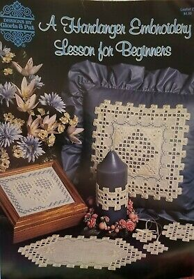 A Hardanger Embroidery Lesson for Beginners Leaflet