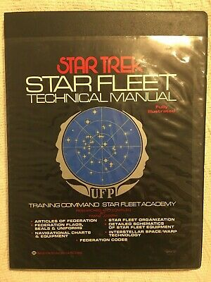 Star Trek Star Fleet Technical Manual Ballantine Books First Edition 1975