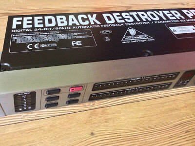 BEHRINGER Feedback Destroyer Pro FBQ2496