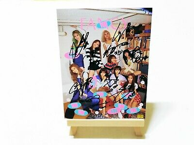 [ TWICE ] FANCY YOU 7th Mini Album AUTHENTIC Original Hand Signed CD + GIFT BOX