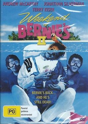 Weekend At Bernie's 2. Dvd .andrew Mc Carthy .new And Sealed
