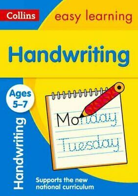 Handwriting Ages 5-7 by Collins Easy Learning 9780008151454   Brand New