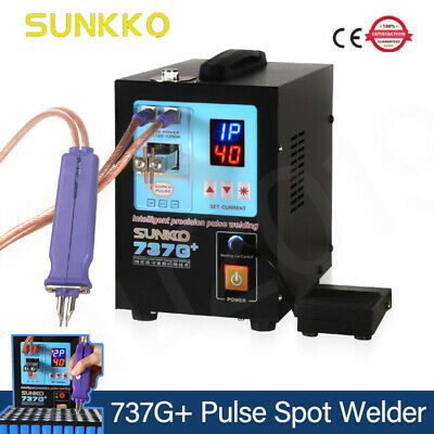 SUNKKO 737G+ 4.3KW Spot Welding Machine Welding Pen For 18650 Batteries Nickel