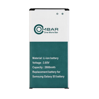 2800mAh NEW OEM Replacement Battery for Samsung Galaxy S5 EB-BG910BBE SV i9600