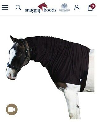 Snuggy Hoods Sweet Itch Hood Horse With Mesh