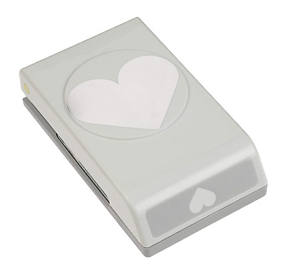 EK Success Large Punch-Heart, 2.5 x 2-inch, Other, Multicoloured, 5.81 x 9.62 x