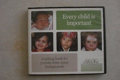 - Good Parenting - Every Child Is Important (4 X Pc Cd- Rom) Aussie Seller