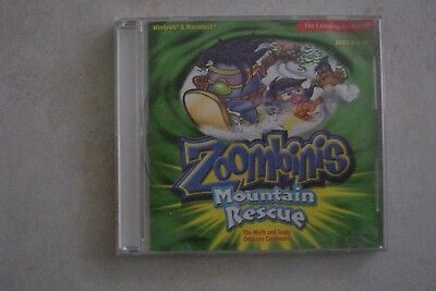 - Zoombinins Mountain Rescue  (Pc Cd- Rom) Win/Mac (Aussie Seller)