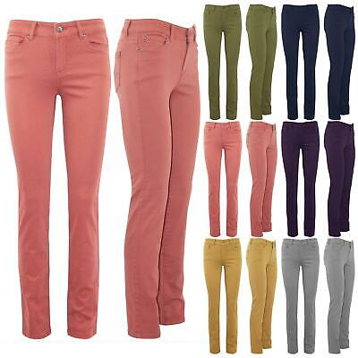 Womens Ladies Faded Skinny Slim Tight Pencil Fit Ankle Length Denim Jeans Pants