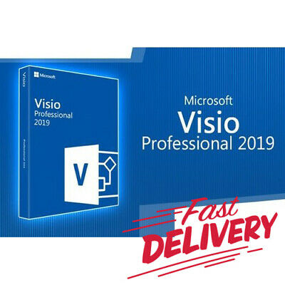 Microsoft Visio 2019 Professional 32/64 bit Product Key + Download LINK 👌👍