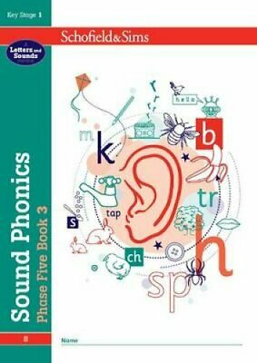 Sound Phonics Phase Five Book 3: KS1 , Ages 5-7 9780721711515   Brand New