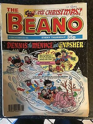 Job Lot Bundle Beano Comics Dated 1993 All But 1 Issue Missing