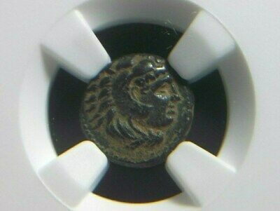 Rare quarter unit of Alexander III The Great 336-323 BC, Lifetime  NGC XF star