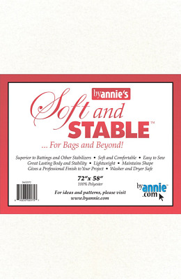 by Annie ByAnnie's Soft and Stable-White 72 x 58-inch, Other, Multicoloured, x x