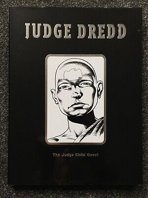 Judge Dredd The Judge Child Quest HC Signed John Wagner Carlos Ezquerra 2000ad