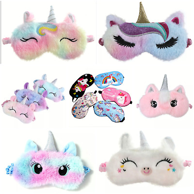 UNICORN Eye mask Travel sleep masks Blindfold sleeping - Children's girls kids