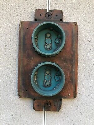 Vintage Industrial Wooden Foundry Casting Mould Wall Art