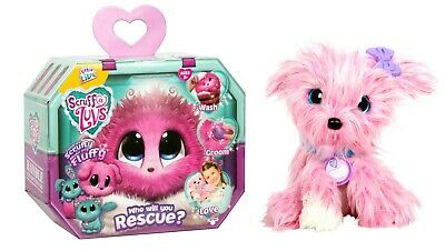 Little Live Scruff A Luvs Who Will You Rescue PINK Puppy, Cat or Rabbit