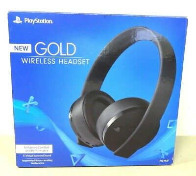 Sony 7.1 Virtual Surround Sound Gold Kabellos Stereo PS4 / Px Gaming