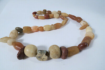 Alte Steinperlen Sahara AT55 Sahara Sahel Strand Antique Stone Beads Afrozip