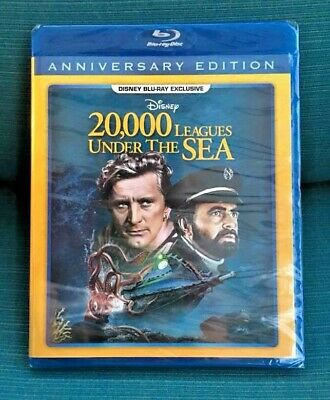 20,000 Leagues Under the Sea Disney Movie Club Blu-ray 2019 DMC Sealed NEW 20000