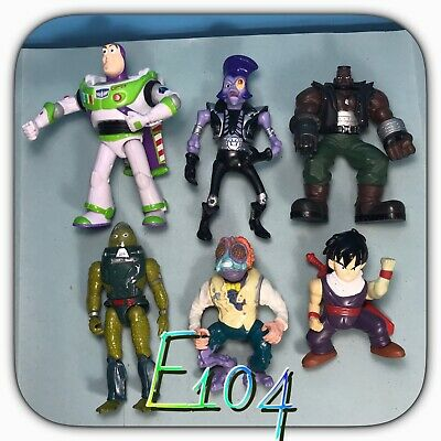 10115it lotto action figure job lot mix toy story turtles dragon ball vintage