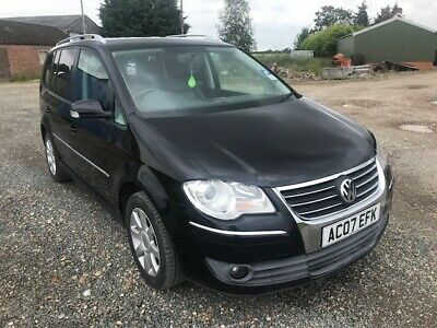 Volkswagen Touran 2.0 TDi Sport DSG Auto 7 Seat Leather, Very Low Miles, History