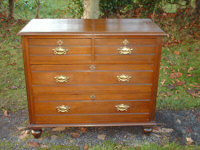 Victorian  Pine  Chest  Of  Drawers