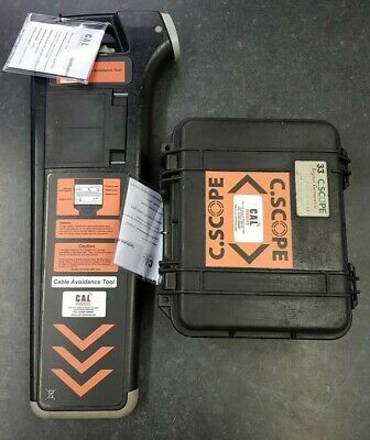 C Scope C.A.T Cable Locator & Genny Kit c/w 12 Mth Warranty & Cert