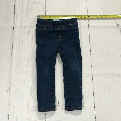 Baby Gap Toddler Girls Skinny Fit Jeans Size 3 Years Blue Denim - C140