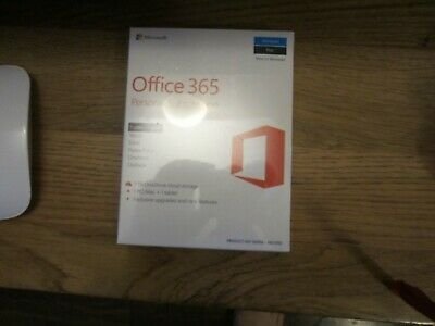 Microsoft Office 365 Personal 32/64 Bit, For 1 PC/Mac and Tablet.