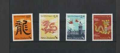 New Zealand 2012 Year of the Dragon MNH set per scans