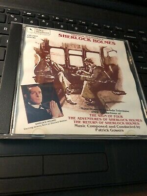 Sherlock Holmes Original Television Soundtrack CD Rare Patrick Gowers
