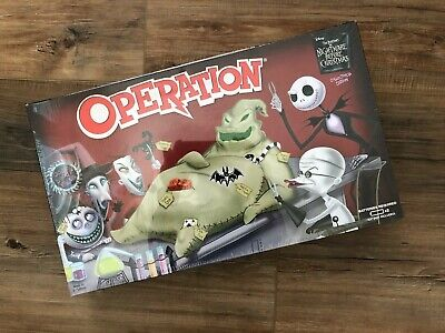 Christmas Operation Game.The Nightmare Before Christmas Operation Game Collector S Edition Sealed