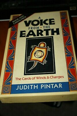 Tarot cards A VOICE FROM THE EARTH Judith Pintar ORACLE. 1989 BOOK AND DECK SET