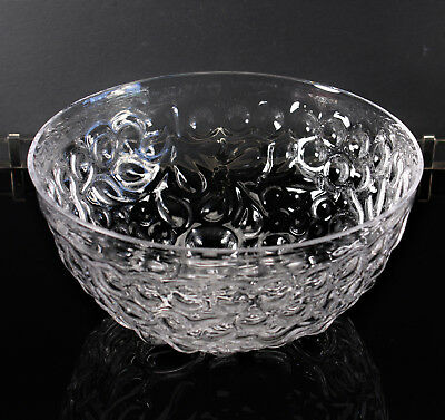 NEW Sugahara SGHR Japanese Craft Glass Regency Bowl Designed by Dominic Habsburg