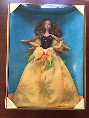 Barbie Doll Collector Sunflower  Vincent Van Gogh Limited Edition 1998 NRFB
