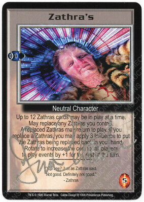 Babylon 5 CCG Deluxe Promo Card Rogue Telepath Sealed Plastic Wrap M//NM Mint//NM