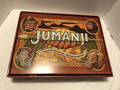 JUMANJI The Game in Real Wooden Box  Board Game for the Family